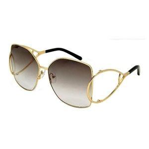 Rounded Arm Retro Sunglasses